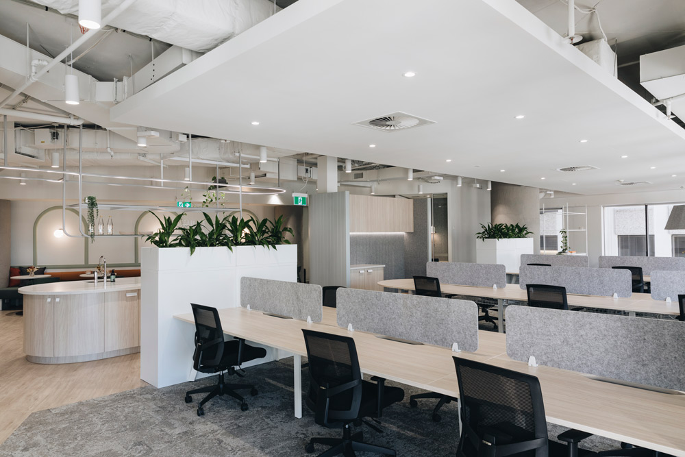 Modern office renovation | Featured image for 4 signs its time for an office remodel.