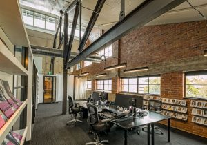 Modern Office | Featured image for office design for productivity blog.