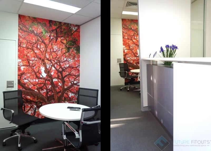 Modern office | Featured image for modern office colour schemes blog.