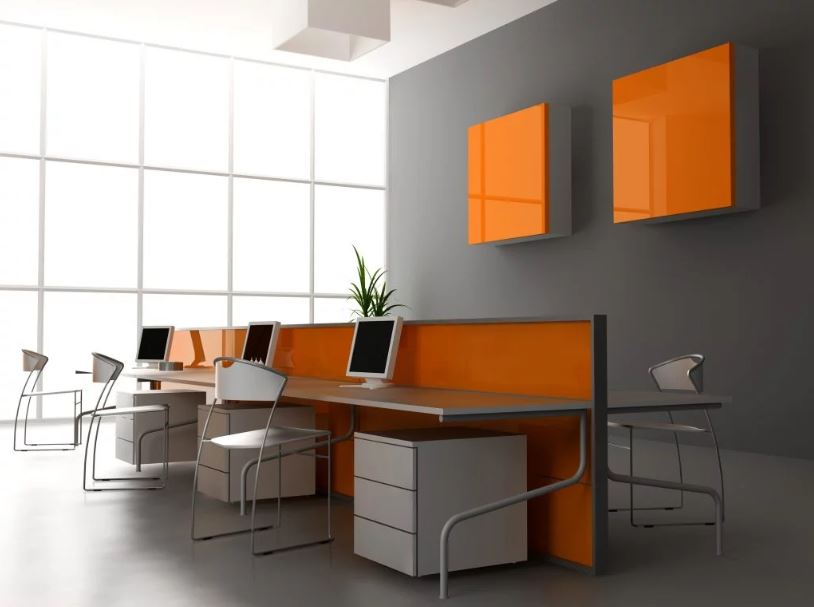 Modern eco friendly office | Featured image for eco friendly interior design with sustainability in mind blog.
