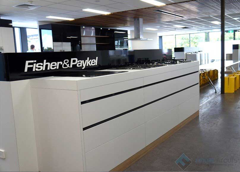 Fisher and Paykel Showroom Fitout