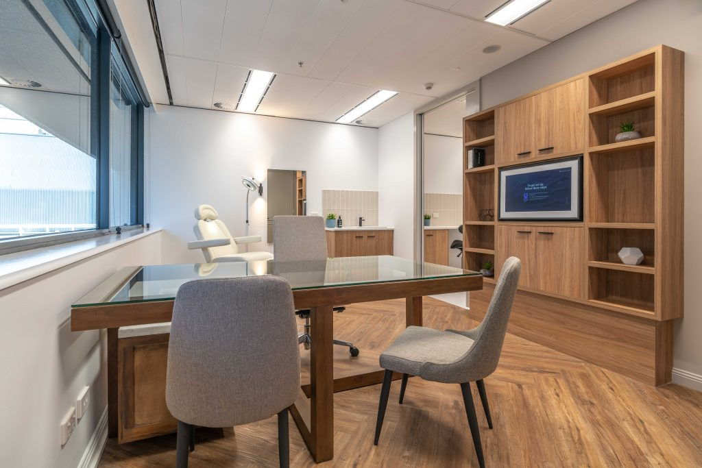 Inside an office | Featured image for how to improve air quality in office workspaces.