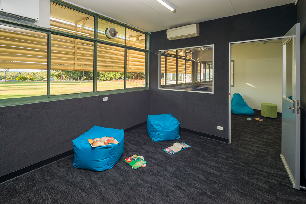 Yugumbir State School reading nook.