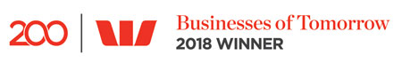 Westpac Business Of Tomorrow Winner Logo