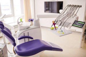 Dental Clinic Design Ideas - Dental Chair In a Modern Dental Clinic