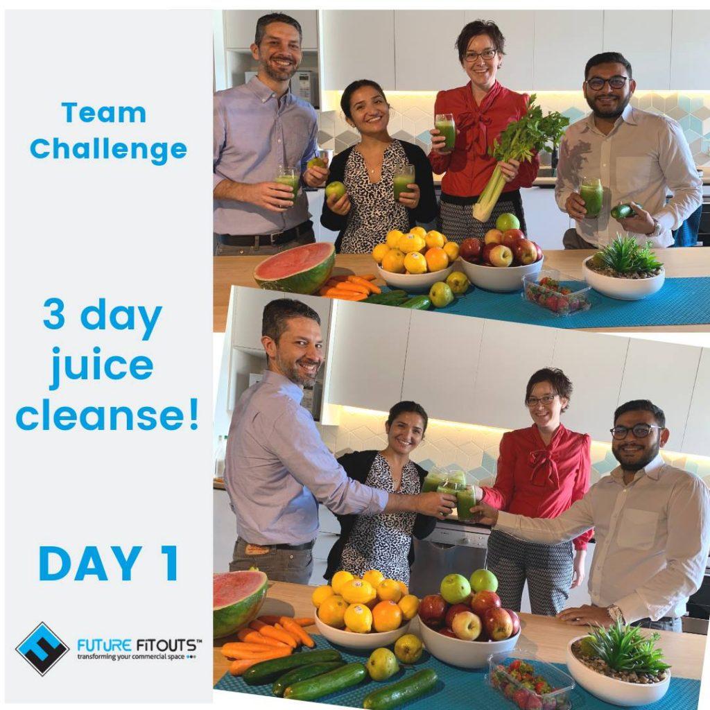 Future Fitouts Health Challenge