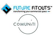 Comuniti and Future Fitouts logos