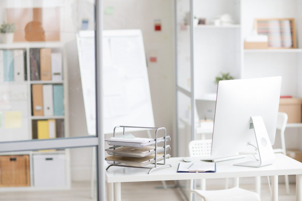 Glass cubicle office | Featured Image for the Future of Office Design.