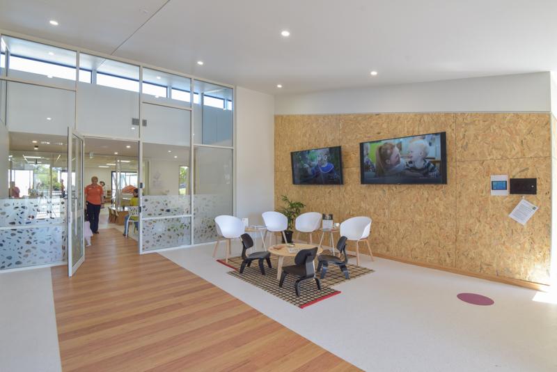 C + K Childcare Fitout - Reception Area