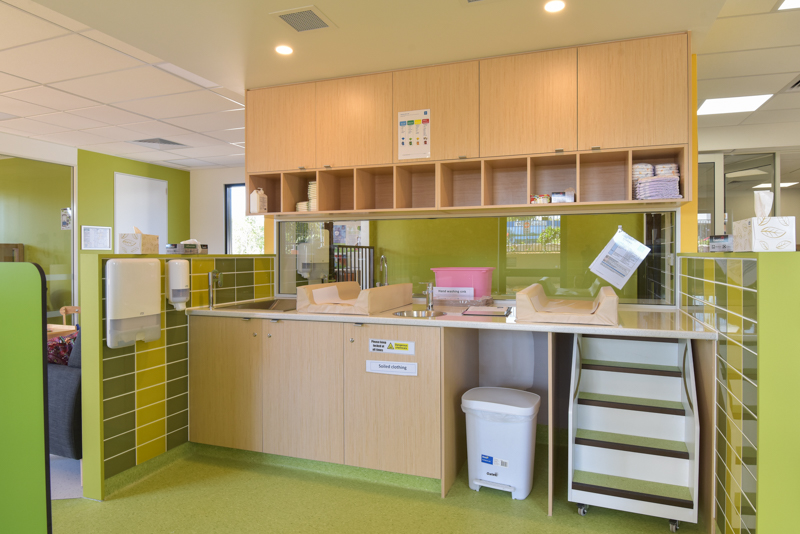 C + K Childcare Fitout - Change Table