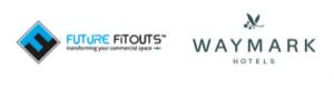 Future Fitouts & Waymark Hotels logo.